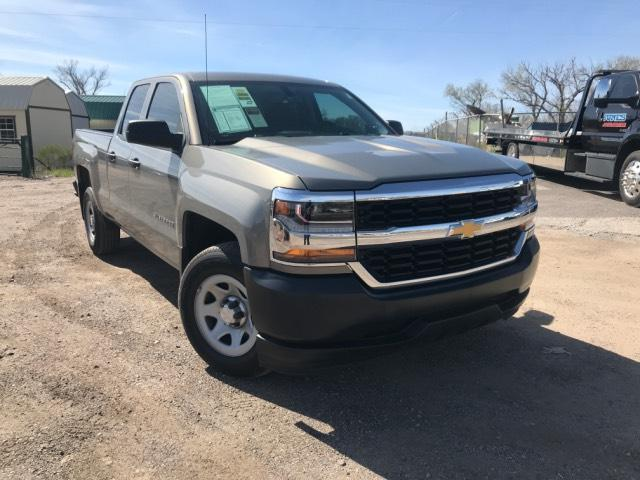 Pre Owned 2017 Chevrolet Silverado 1500 2wd Double Cab 143 5 Work Truck