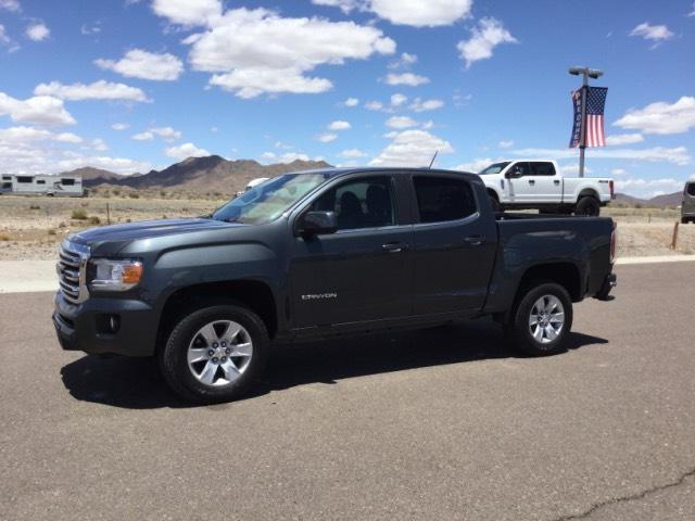 Pre Owned 2017 Gmc Canyon 2wd Crew Cab 128 3 Sle